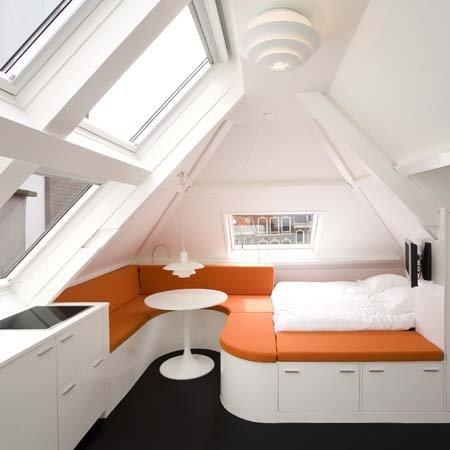 Apartamentos bem pequeno